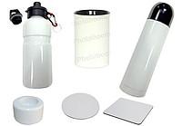 Фляги, термосы, подставки, подсвечники, баночки для специй