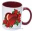 Чашка с Вашим дизайном MUG2T-I, цветная внутри и ручка  3