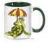 Чашка с Вашим дизайном MUG2T-I, цветная внутри и ручка  2