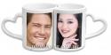 Чашка с Вашим дизайном для влюбленных LOVER (2 шт)  3