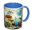 Чашка с Вашим дизайном MUG2T-I, цветная внутри и ручка  6