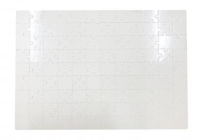 Заготовка пазла прямоугольная 287х410 мм ( 108 эл.)