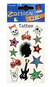 Татуювання з зображеннями асорті