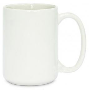 Кружка керамічна для сублімації, біла 14 oz