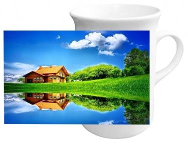 Чашка с Вашим дизайном в форме