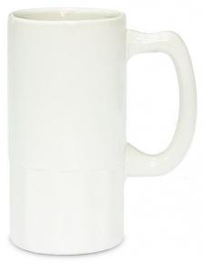 Граненый пивной бокал для сублимации с рифленым дном, MUG20