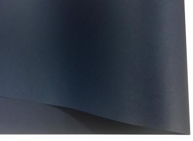 Арт.7046 Дизайнерский картон с тиснением микровельвет, синий, 285 гр/м2