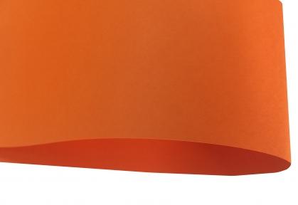 Арт.D3014 Дизайнерский картон Orange, оранжевый матовый, 250 гр/м2