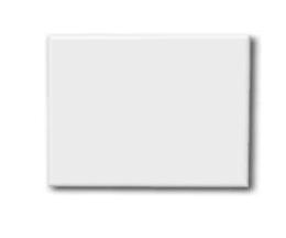 Плитка керамическая прямоугольная для сублимации (15х20см)