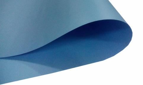 Арт.L1895 Дизайнерский картон Vista, перламутровый голубой, 285 гр/м2