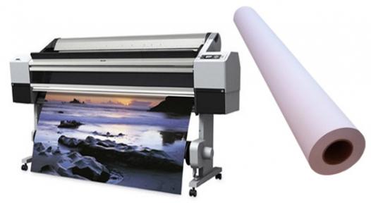 Самоклеючий поліпропіленовий фотопапір для струменевих принтерів, матовий, 130 г/м2, 610 мм х 30 м