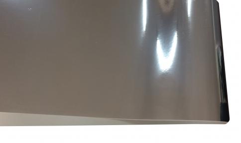 Арт.16903-00125591 Дизайнерский картон Silver mirror, гладкий серебро, 255 гр/м2