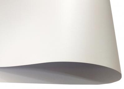 Арт. 148173 Дизайнерский картон Perl Dream, белый перламутровый с тиснением, 290 гр/м2