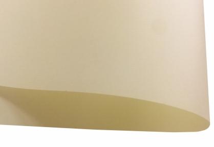 Арт.Ch L505/80 Дизайнерская бумага Chamois Ivory Board с тиснением лен, слоновая кость, 80 гр/м2
