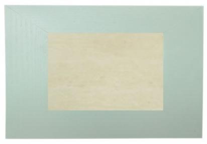 Плитка бежева керамічна у світлій рамці з натурального дерева (20х30 см)
