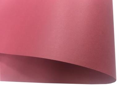 Арт.6888 Дизайнерский картон Bordeaux, бордовый с тиснением микровельвет, 285 гр/м2