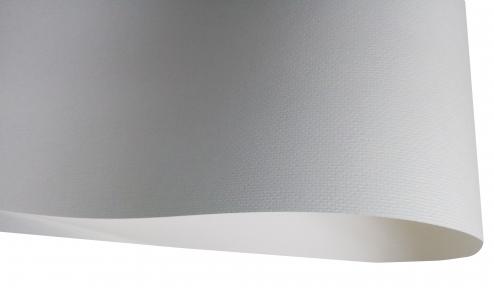 Арт.10204-08324011 Дизайнерский картон Laid, молочный с тиснением полотно, 240 гр/м2