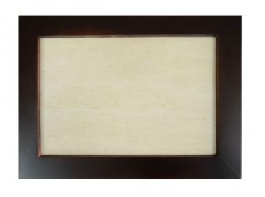 Плитка бежева керамічна в рамці з натурального дерева (20х30 см)