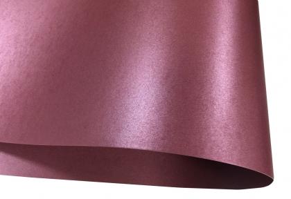 Арт.0073 Дизайнерский картон Satin Lilac Paper, сиреневый перламутровый, 250 гр/м2