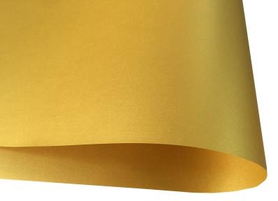 Арт.78716 Дизайнерская бумага Strardream Gold, золотая перламутровая, 120 гр/м2