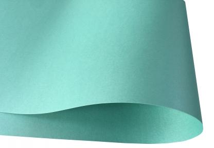 Арт.77056 Дизайнерская бумага LAGOON, перламутровая бирюзовая, 120 гр/м2