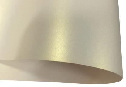 Арт.10413-00140 Дизайнерский картон Weight, перламутровый, шампань, 250 гр/м2