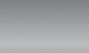 Металлическая пластина для сублимации, серебро матовое
