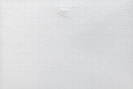 Заготовка пазла прямоугольная 382х262 мм ( 200 эл.)