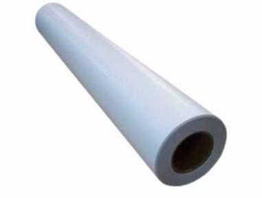 Широкоформатная полипропиленовая пленка для струйных принтеров, белая, матовая, 130 г/м2, 1070 мм х 30 м