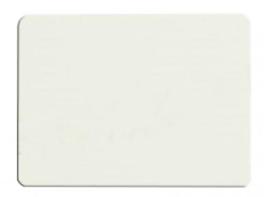 Металлическая пластина для сублимации, белая