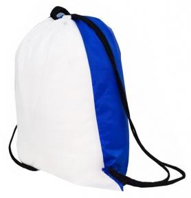 Рюкзак синий для сублимации, палаточная ткань