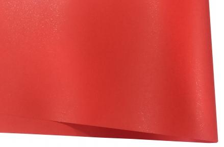 Арт.10402-12031 Дизайнерская бумага Hyacinth Star Rain гладкая,  красная, 120 гр/м2