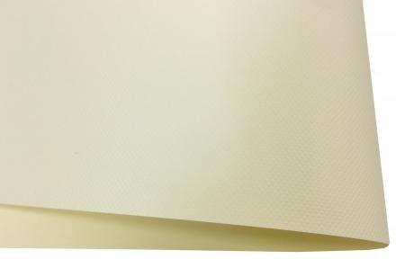Арт.175313 Дизайнерский картон Vivaldi Krem Royale с тиснением ромб, кремовый, 300 гр/м2