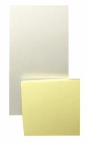 Магніт з блокнотом на холодильник (80 х 145 мм)