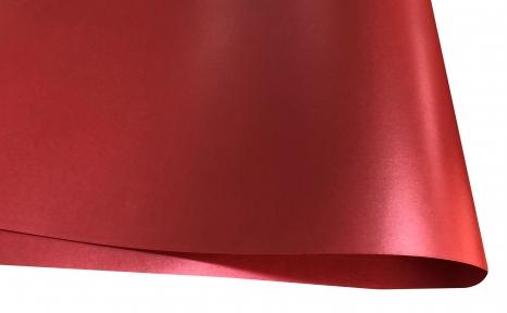 Арт.10212-12017 Дизайнерская бумага Brilliant Star, перламутровая красная, 120 гр/м2