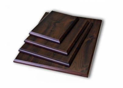 Підкладка дерев'яна прямокутна з отвором для кріплення (10х15см)
