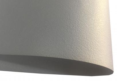 Арт.zg104-17 Дизайнерский картон Metallic Board, перламутровый с эмбоссированным рисунком, 250 гр/м2