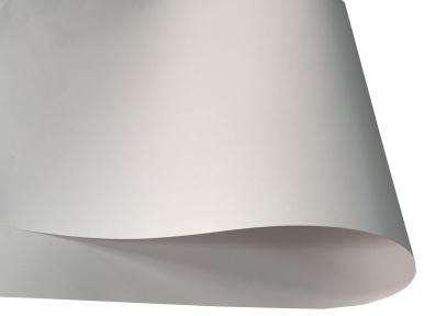 Арт.76823 Дизайнерская бумага CRYSTAL, белая перламутровая, 120 г/м2