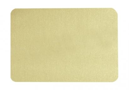 Металева пластина для сублімації, золото металік