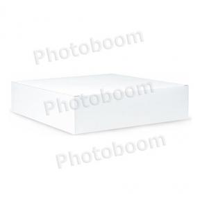 Картонная коробка для пазлов, белая