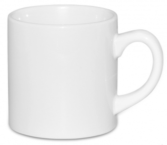Кружка белая десертная 6 oz (180 мл)
