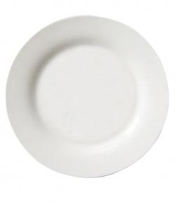 Тарелка полимерная белая для сублимационной печати, D - 230 мм (площадь запечатки d-120 мм)