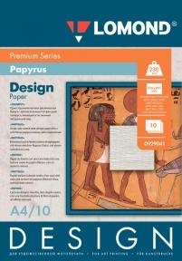 Односторонній матовий дизайнерський фотопапір Папірус, A4, 230 г/м. кв, 10 аркушів