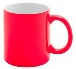 Кольорова кружка хамелеон для сублімації Colour Changing Mug, червона