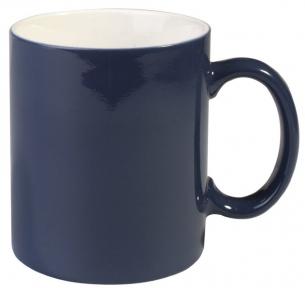Кружка зі зміною кольору темно-синя глянцева