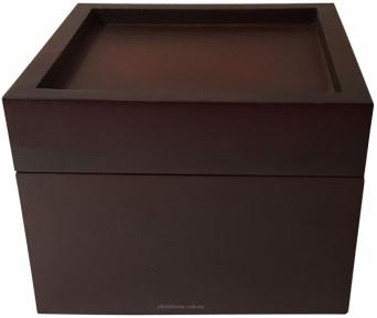 Скринька для прикрас під плитку з натурального дерева