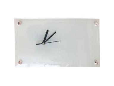 Годинник прямокутний скляний для сублімації