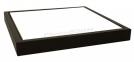 Панно в рамці з темного натурального дерева з плиткою для сублімації (15х15 см)